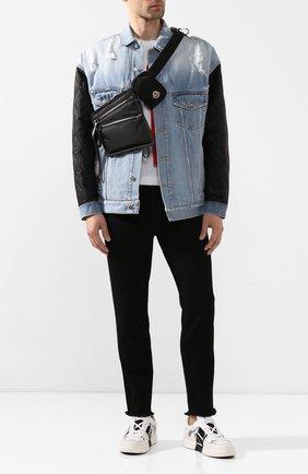 Мужская текстильная поясная сумка MONCLER черного цвета, арт. F1-09A-5M600-00-02SC6 | Фото 2
