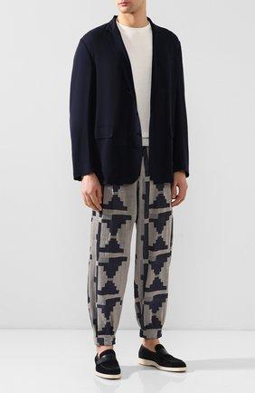 Мужской шерстяной пиджак RALPH LAUREN темно-синего цвета, арт. 798744017 | Фото 2