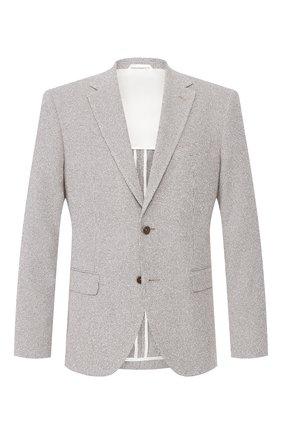 Мужской пиджак BOSS бежевого цвета, арт. 50432931 | Фото 1