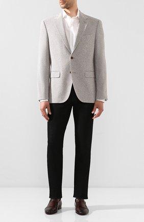 Мужской пиджак BOSS бежевого цвета, арт. 50432931 | Фото 2