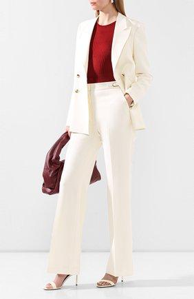 Женская шелковый пуловер GIORGIO ARMANI красного цвета, арт. 3HAM14/AM39Z | Фото 2