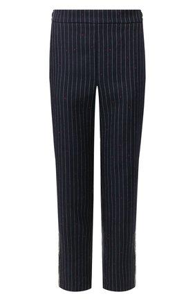 Женские брюки из вискозы ZADIG&VOLTAIRE черного цвета, арт. SJCE0108F   Фото 1