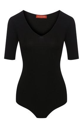 Женское боди ALTUZARRA черного цвета, арт. 120-8405-KYS980 | Фото 1