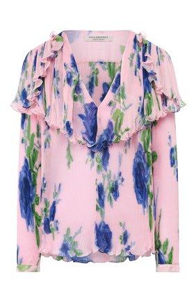 Женская блузка PHILOSOPHY DI LORENZO SERAFINI розового цвета, арт. A0237/2184 | Фото 1
