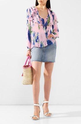Женская блузка PHILOSOPHY DI LORENZO SERAFINI розового цвета, арт. A0237/2184 | Фото 2