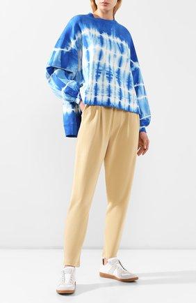 Женская свитшот ELECTRIC&ROSE голубого цвета, арт. LFCV06/SH0CKWAVE WASH | Фото 2