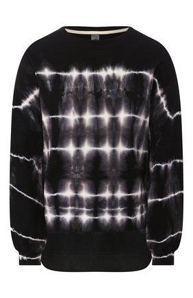 Женская свитшот ELECTRIC&ROSE черно-белого цвета, арт. LFCV06/SH0CKWAVE WASH | Фото 1