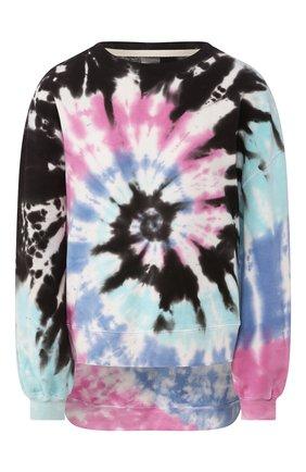 Женская свитшот ELECTRIC&ROSE разноцветного цвета, арт. LFCV06/C0SMIC WASH | Фото 1