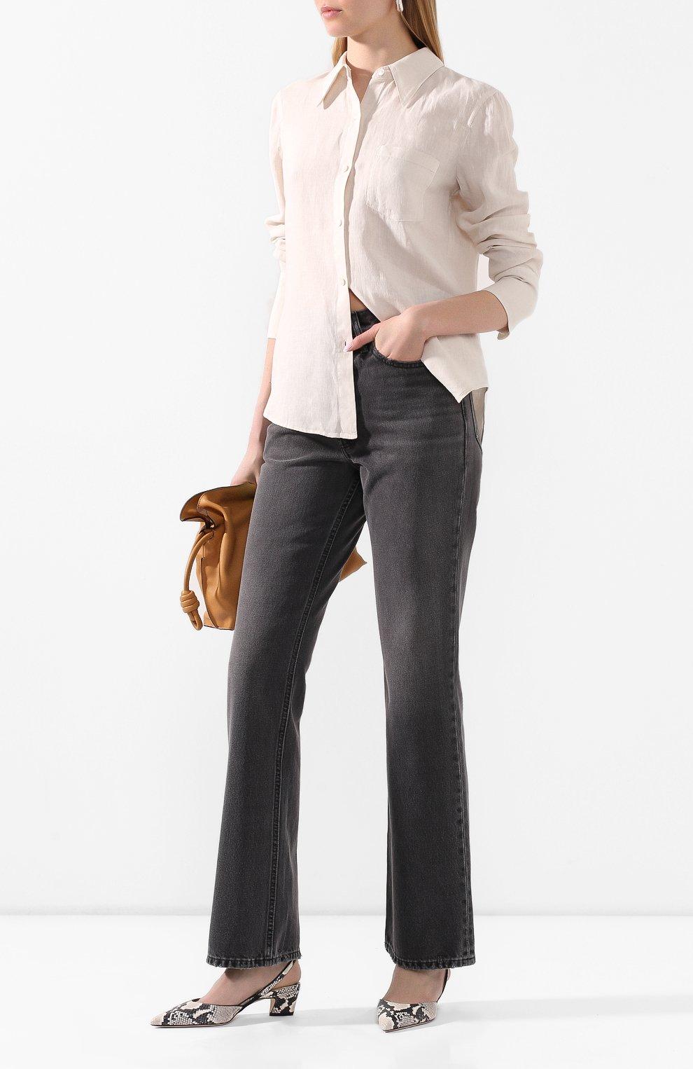 Женские джинсы RE/DONE черного цвета, арт. 166-3W7BC/BLACK 2   Фото 2