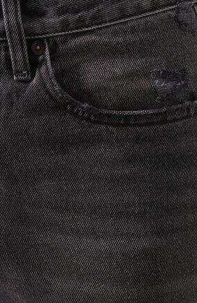 Женские джинсы RE/DONE черного цвета, арт. 166-3W7BC/BLACK 2   Фото 5