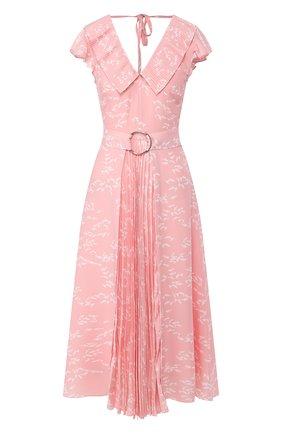 Женское платье MARKUS LUPFER розового цвета, арт. DR1128 | Фото 1