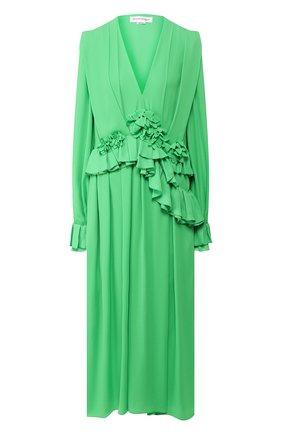 Женское платье VICTORIA BECKHAM зеленого цвета, арт. 1220WDR001315C | Фото 1