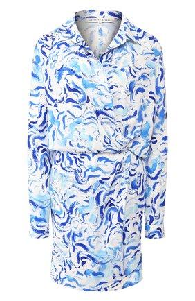 Женское платье из вискозы ALEXANDER TEREKHOV голубого цвета, арт. D1331/4010.BS104S/DS20 | Фото 1
