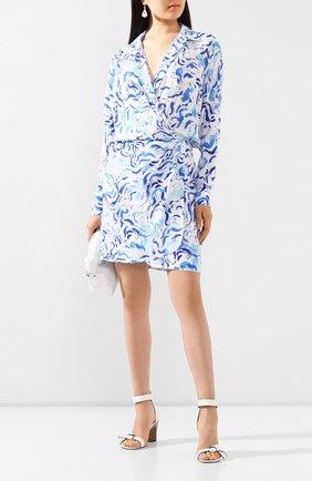 Женское платье из вискозы ALEXANDER TEREKHOV голубого цвета, арт. D1331/4010.BS104S/DS20   Фото 2