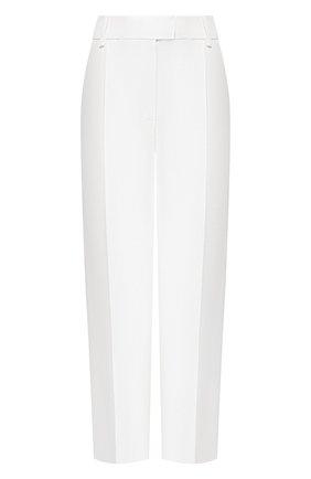 Женские брюки ALEXANDER TEREKHOV белого цвета, арт. P145/4404.100/DS20 | Фото 1