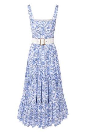 Женское хлопковое платье ALEXANDER TEREKHOV синего цвета, арт. D1249/3819.PC140/S20 | Фото 1
