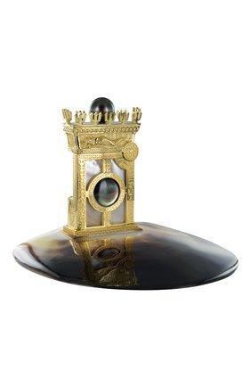 "Мужского зажигалка ""king of pearl exclusive"" на подставке S.T. DUPONT бесцветного цвета, арт. 16192 | Фото 1 (Драгоценные камни: Жемчуг)"
