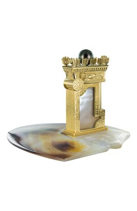 "Мужского зажигалка ""king of pearl exclusive"" на подставке S.T. DUPONT бесцветного цвета, арт. 16192 | Фото 2 (Драгоценные камни: Жемчуг)"