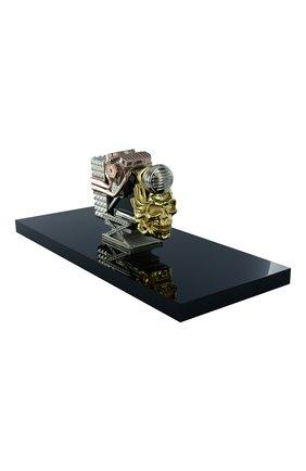 Мужского зажигалка на подставке S.T. DUPONT бесцветного цвета, арт. 16361 | Фото 2 (Драгоценные камни: Бриллианты)