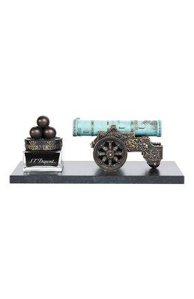 Мужского перьевая ручка царь-пушка S.T. DUPONT бесцветного цвета, арт. 241810 | Фото 2