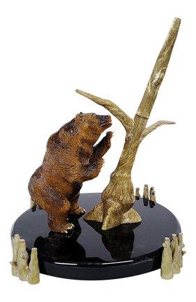Мужского перьевая ручка brown bear S.T. DUPONT бесцветного цвета, арт. 241822 | Фото 1