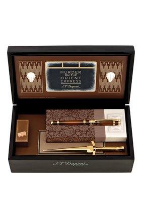Мужского подарочный набор: ручка и нож для писем S.T. DUPONT бесцветного цвета, арт. 410186 | Фото 1