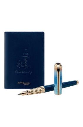 Мужского подарочный набор: ручка и обложка для паспорта S.T. DUPONT бесцветного цвета, арт. 410049LC2 | Фото 2