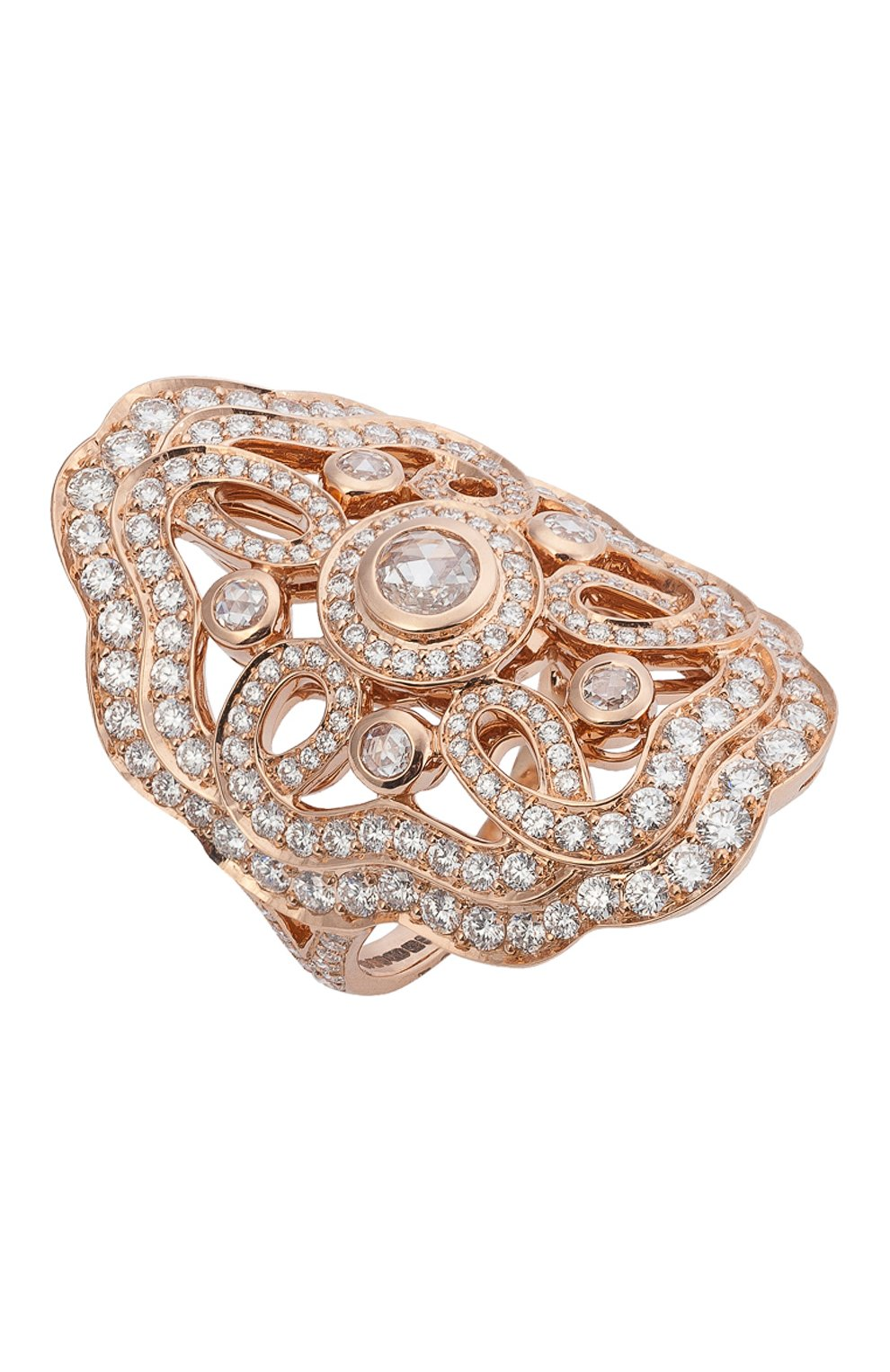 Женские кольцо GARRARD бесцветного цвета, арт. 2012704 | Фото 1