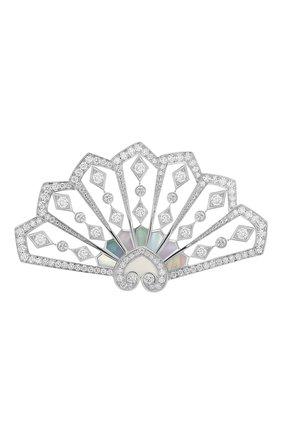 Женские брошь GARRARD бесцветного цвета, арт. 2015688 | Фото 1