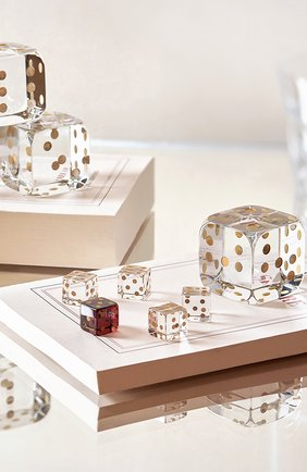 Набор из 5 игральных кубиков jeu BACCARAT прозрачного цвета, арт. 2 813 755 | Фото 2
