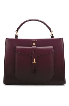 Женская сумка t-twist TOM FORD сиреневого цвета, арт. L1203T-ICL001 | Фото 1