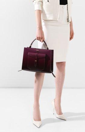 Женская сумка t-twist TOM FORD сиреневого цвета, арт. L1203T-ICL001 | Фото 2