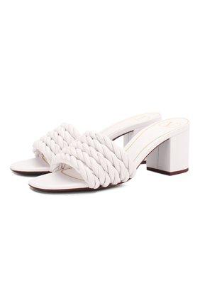 Женские кожаные мюли valentino garavani the rope VALENTINO белого цвета, арт. TW0S0Y41/LWS | Фото 1
