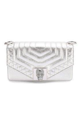 Женская сумка PHILIPP PLEIN серебряного цвета, арт. P20A WBA1220 PLE053N | Фото 1