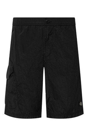 Детского плавки-шорты STONE ISLAND черного цвета, арт. 7215B0343 | Фото 1