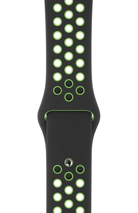 Мужской ремешок для apple watch 40mm nike sport band (regular) APPLE черного цвета, арт. MXQW2ZM/A | Фото 2