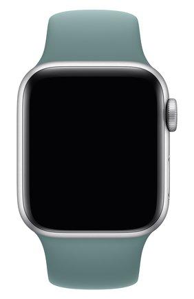 Мужской ремешок для apple watch 40mm sport band (regular) APPLE голубого цвета, арт. MXNT2ZM/A | Фото 1
