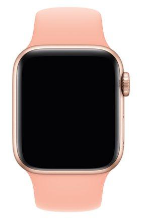 Мужской ремешок для apple watch 40mm sport band (regular) APPLE светло-розового цвета, арт. MXNU2ZM/A | Фото 1