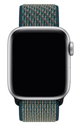 Мужской ремешок для apple watch 40mm nike sport loop APPLE зеленого цвета, арт. MXN22ZM/A | Фото 1