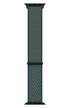 Мужской ремешок для apple watch 40mm nike sport loop APPLE зеленого цвета, арт. MXN22ZM/A | Фото 2