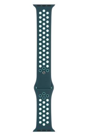 Мужской ремешок для apple watch 40mm nike sport band (regular) APPLE синего цвета, арт. MXQX2ZM/A | Фото 1