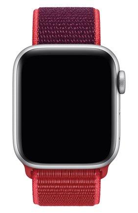 Мужской ремешок для apple watch 40mm sport loop APPLE красного цвета, арт. MXHV2ZM/A | Фото 1