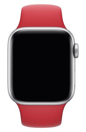 Мужской ремешок для apple watch 40mm sport band (regular) APPLE красного цвета, арт. MU9M2ZM/A | Фото 1