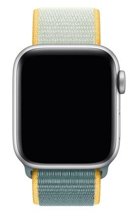 Мужской ремешок для apple watch 40mm sport loop APPLE голубого цвета, арт. MXMR2ZM/A | Фото 1