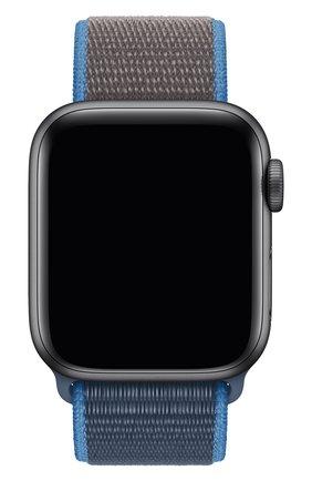 Мужской ремешок для apple watch 40mm sport loop APPLE синего цвета, арт. MXMQ2ZM/A | Фото 1