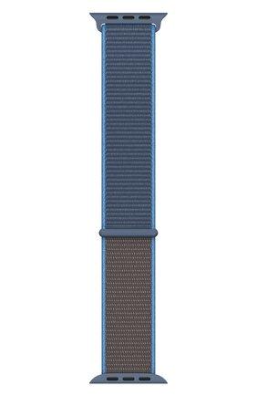 Мужской ремешок для apple watch 40mm sport loop APPLE синего цвета, арт. MXMQ2ZM/A | Фото 2