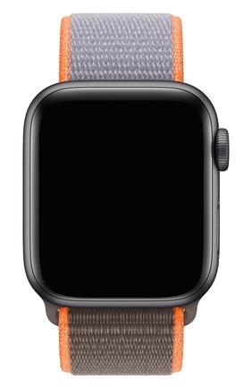 Мужской ремешок для apple watch 40mm sport loop APPLE сиреневого цвета, арт. MXMM2ZM/A | Фото 1