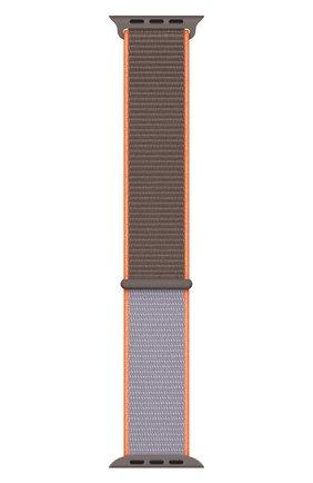 Мужской ремешок для apple watch 40mm sport loop APPLE сиреневого цвета, арт. MXMM2ZM/A | Фото 2