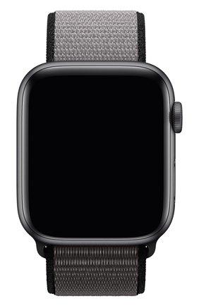 Мужской ремешок для apple watch 44mm sport loop (xl) APPLE серого цвета, арт. MX832ZM/A | Фото 1