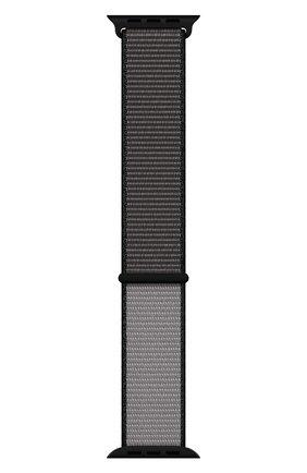 Мужской ремешок для apple watch 44mm sport loop (xl) APPLE серого цвета, арт. MX832ZM/A | Фото 2